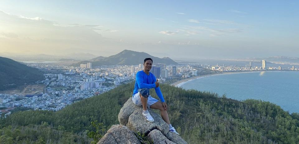 Núi Xuân Vân địa điểm leo núi đẹp tại Quy Nhơn